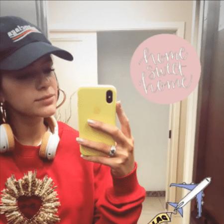 Bruna Marquezine volta ao Brasil após viagem para a Rússia - Reprodução/Instagram