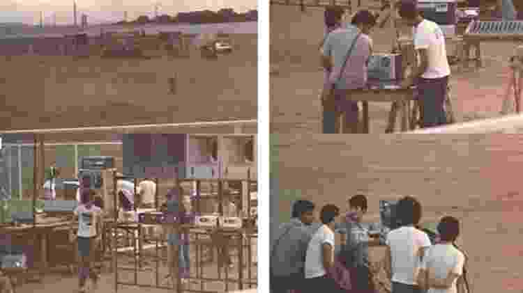 Imagens do primeiro show da Legião, no festival Rock no Parque de Patos de Minas, em 5 de setembro de 1982 - Cadoro Eventos/Carlos Alberto Xaulim/Reprodução - Cadoro Eventos/Carlos Alberto Xaulim/Reprodução