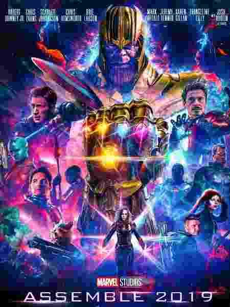 """Fã cria pôster especial para """"Vingadores 4"""" - Reprodução/Twitter/MarvelSpoilers"""