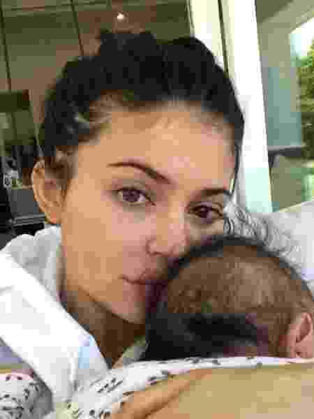 Kylie Jenner com a filha, Stormi - Instagram