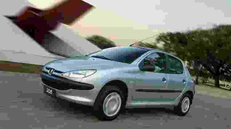 Peugeot 206 - Divulgação - Divulgação