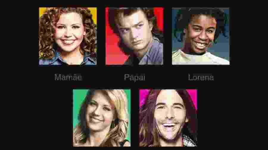 Netflix divulga prévia de seus novos ícones de perfil - Divulgação/Netflix