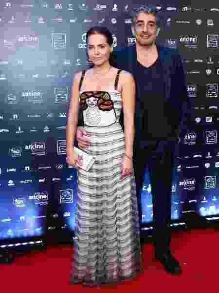 """Leticia Colina e Michel Melamed no Grande Prêmio de Cinema Brasileiro 2018""""  - Roberto Filho/Brazil News - Roberto Filho/Brazil News"""