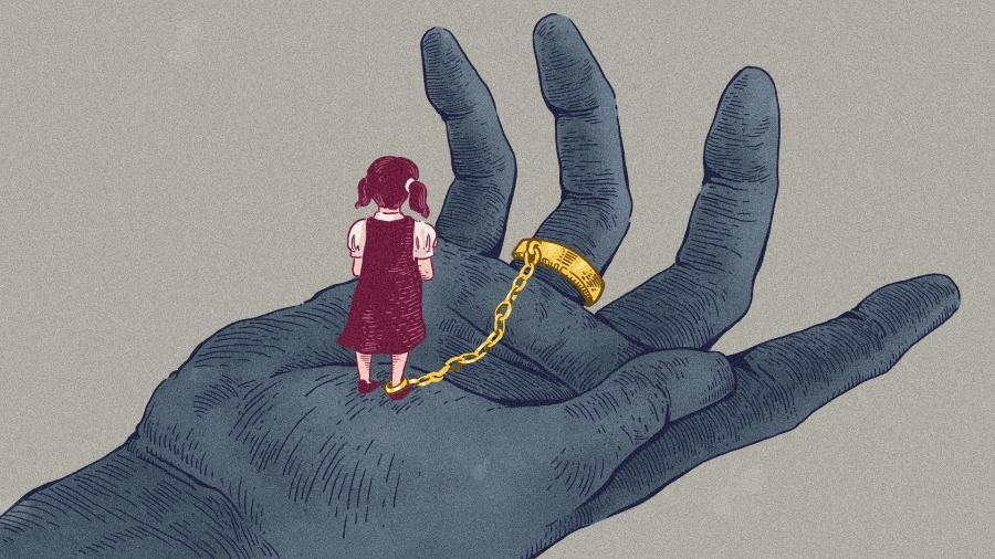 São as meninas novas que mais sofrem com casamentos na adolescência - Silva, Luís/Universa