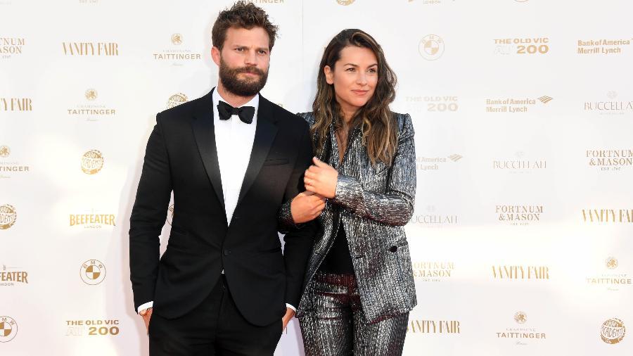 Jamie Dornan e a mulher, Amelia Warner - Getty Images