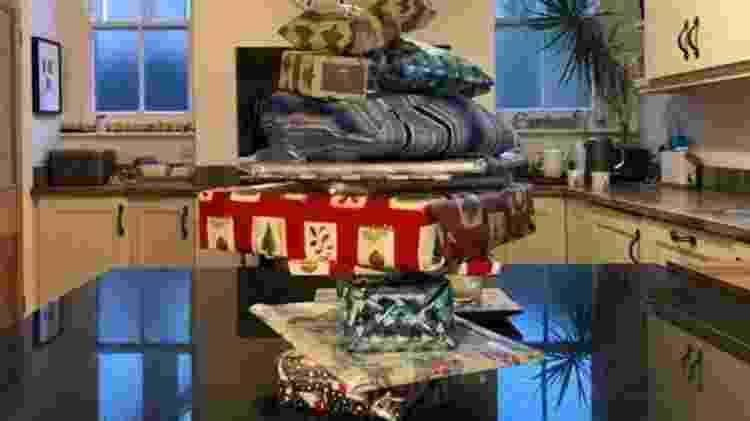 Família pensa em criar uma nova tradição natalina para filha após gesto de vizinho - Owen Williams - Owen Williams