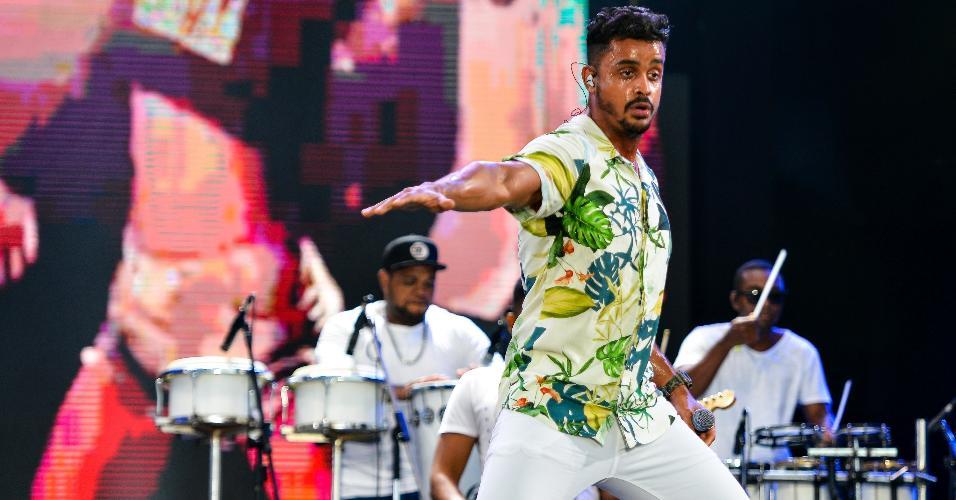 A banda baiana Lincoln e Duas Medidas abriu o penúltimo dia do Festival Virada Salvador 2019