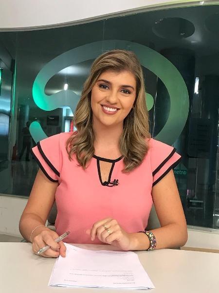 A jornalista Lilian Munhoz, que apresenta o Jornal Terraviva - Reprodução / Instagram