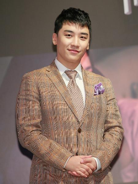 O cantor de k-pop Seungri - VCG/VCG via Getty Images