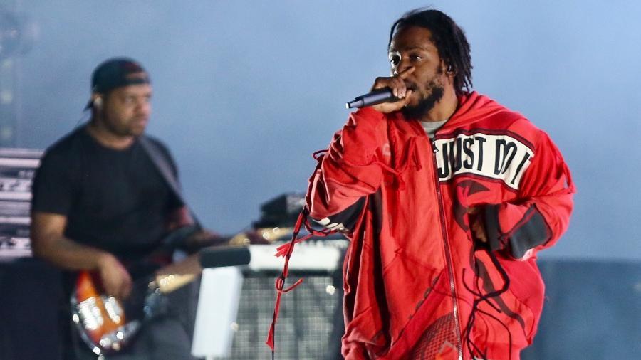 Kendrick Lamar se apresenta no Lollapalooza Brasil 2019, em São Paulo - Manuela Scarpa/Brazil News