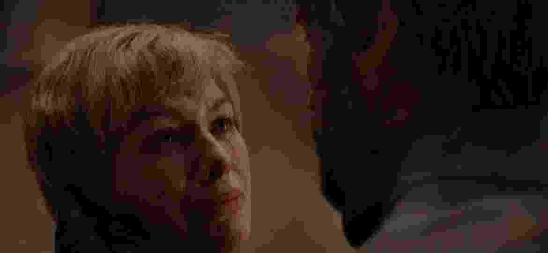 """Lena Headey como Cersei Lannister em cena de """"Game of Thrones"""" - Reprodução/Twitter"""