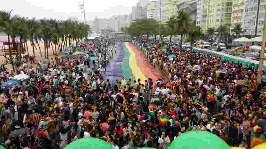 Parada LGBTI+ no Rio de Janeiro - Pauline Almeida/UOL