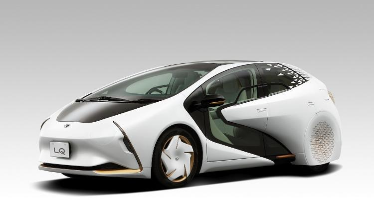 LQ é um conceito de veículo autônomo feito para as grandes cidades - Divulgação