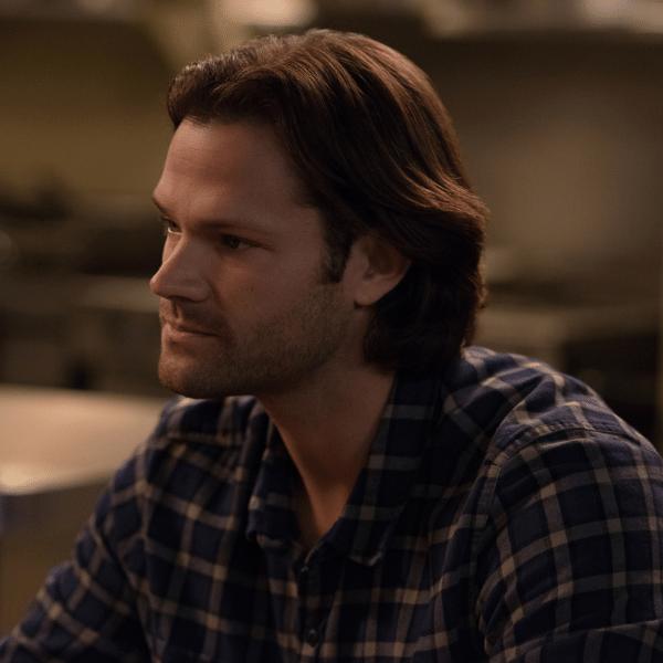 Jared Padalecki como Sam Winchester em cena de 'Supernatural'