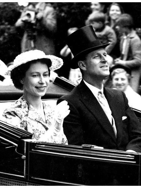 Rainha Elizabeth e Duque de Edimburgo - Reprodução/Instagram