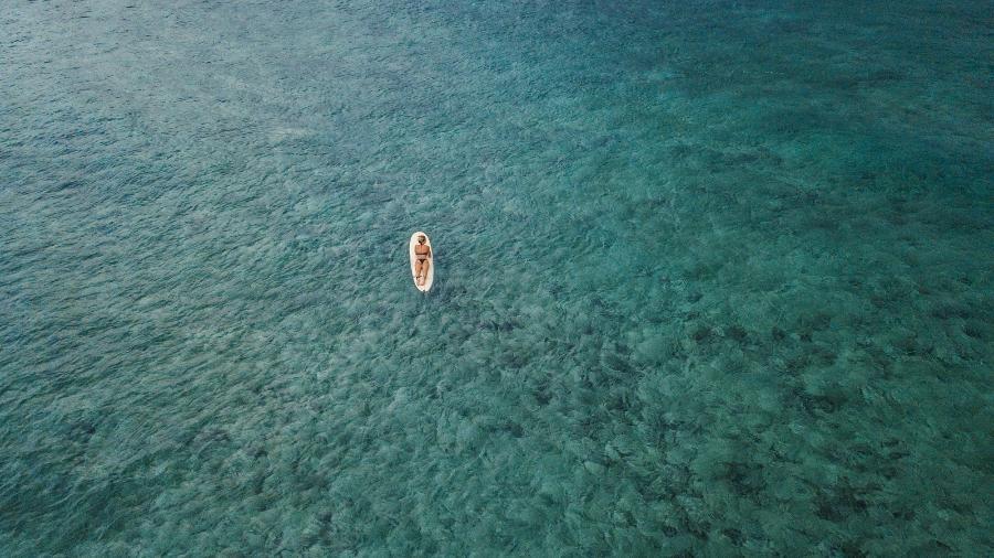 O mar das ilhas Siargao, nas Filipinas - iStock