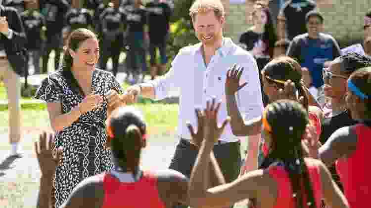 Em setembro do ano passado, o duque e a duquesa fizeram uma viagem de dez dias pela África - PA Media