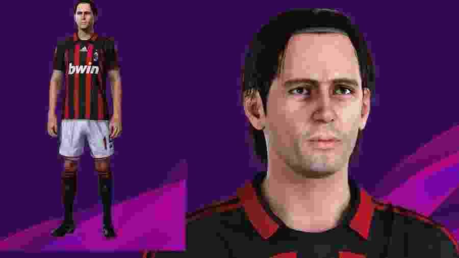 Inzagui é um dos jogadores que brilharam mais no FIFA e no Pro Evolution Soccer do que na vida real - Divulgação/PESGalaxy