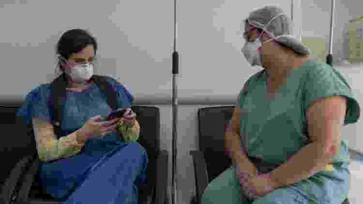 Enfermeira Roseneide Tunico - especial Enfermeiras - Avener Prado/UOL - Avener Prado/UOL