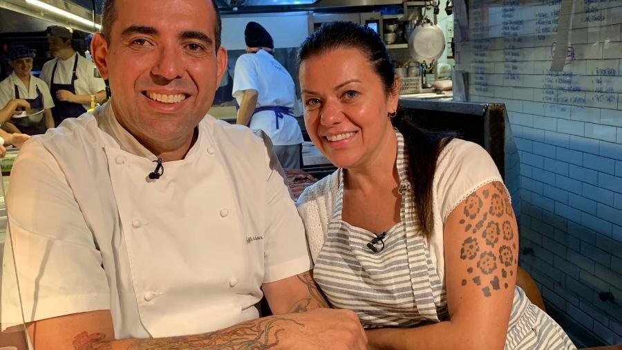 """Jefferson e Janaina Rueda, que comandam badaladas casas em São Paulo, se preparam para lançar delivery """"afetivo"""" - Maria Vargas"""