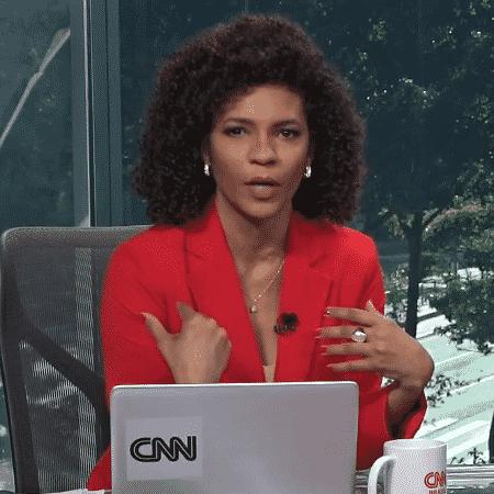 Luciana Barreto, âncora da CNN - Reprodução/YouTube