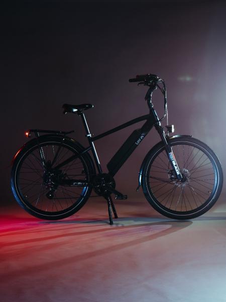 Bike elétrica Lev, aro 27,5, com opção de acelerador meia manopla  - Divulgação/Lev