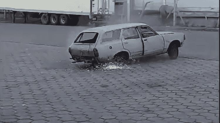 Lemy Fairlane Palestrini boneco crash test humano argentina - Reprodução - Reprodução