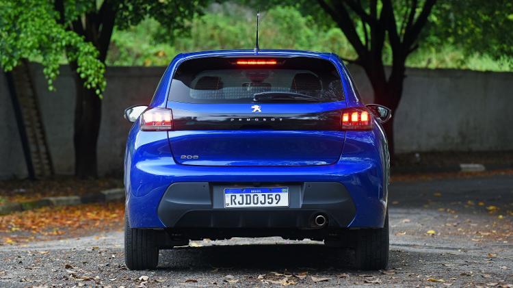 Peugeot 208 Griffe - Murilo Góes / UOL - Murilo Góes / UOL