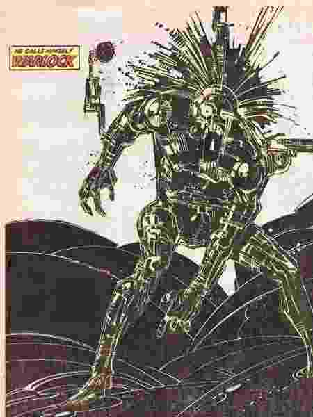 warlock novos mutantes - Reprodução - Reprodução