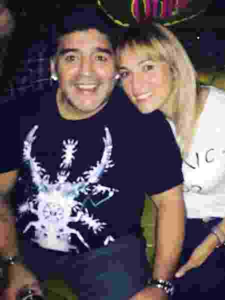 Maradona e Rocío Oliva  - Reprodução/Instagram
