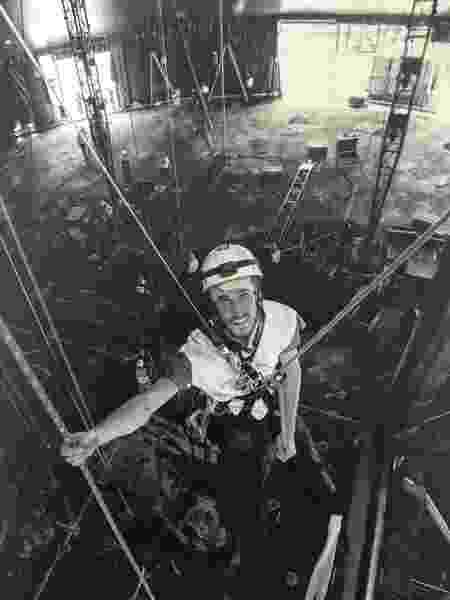 Renan Gradaschi no Cirque du Soleil - Arquivo pessoal - Arquivo pessoal