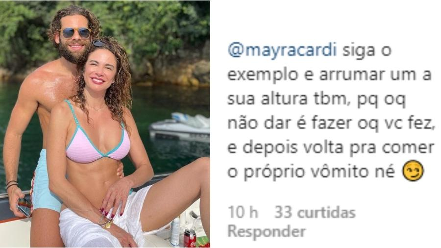 Mayra Cardi comenta em foto de Luciana Gimenez e é criticada - Reprodução/Instagram