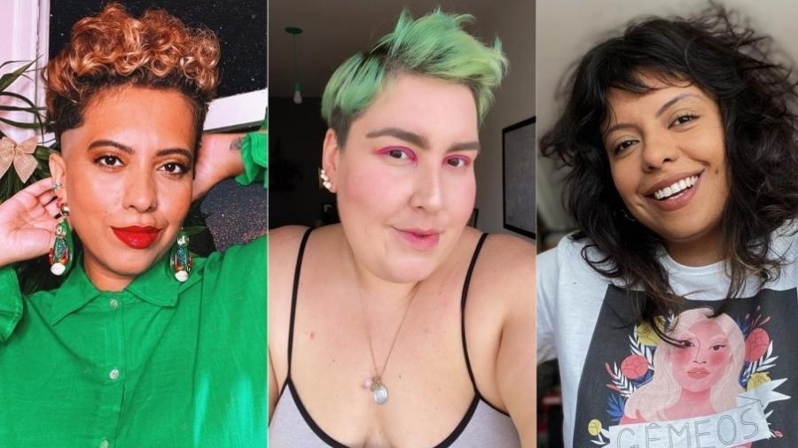 Carla Lemos, Maqui Nóbrega e Bruna Olliveira falam sobre Clubhouse - Reprodução/Instagram