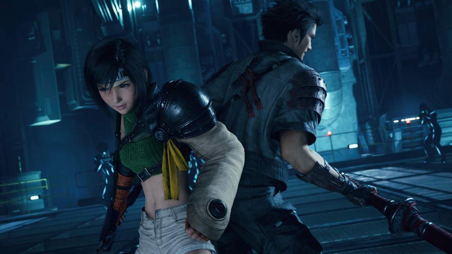 Yuffie estreia no Remake no conteúdo extra de FF VII - Divulgação/Square Enix