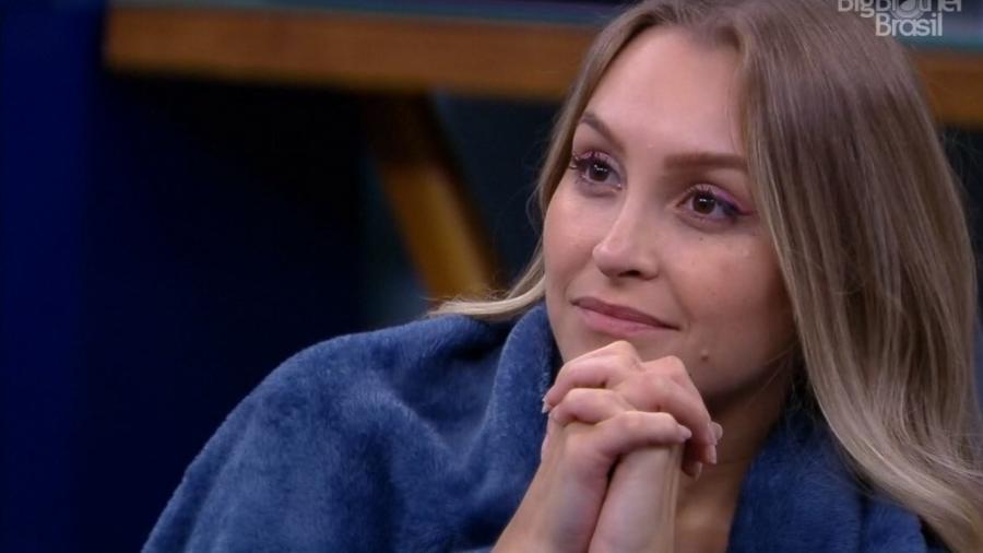 BBB 21: Carla fala sobre volta para a casa - Reprodução/ Globoplay
