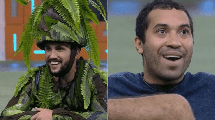 BBB 21: Gilberto e Arthur falam sobre pelos pubianos - Reprodução/Globoplay - Reprodução/Globoplay