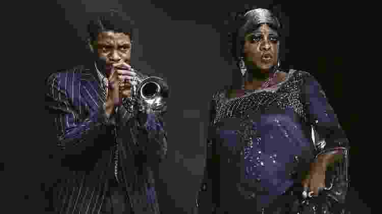 Chadwick Boseman e Viola Davis em 'A Voz Suprema do Blues' - Reprodução - Reprodução