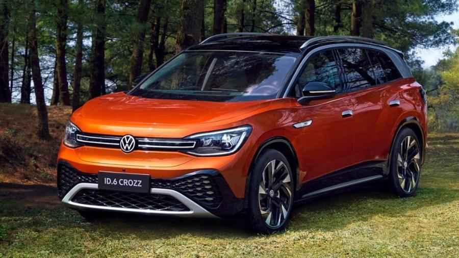 Volkswagen ID.6 Crozz - Divulgação