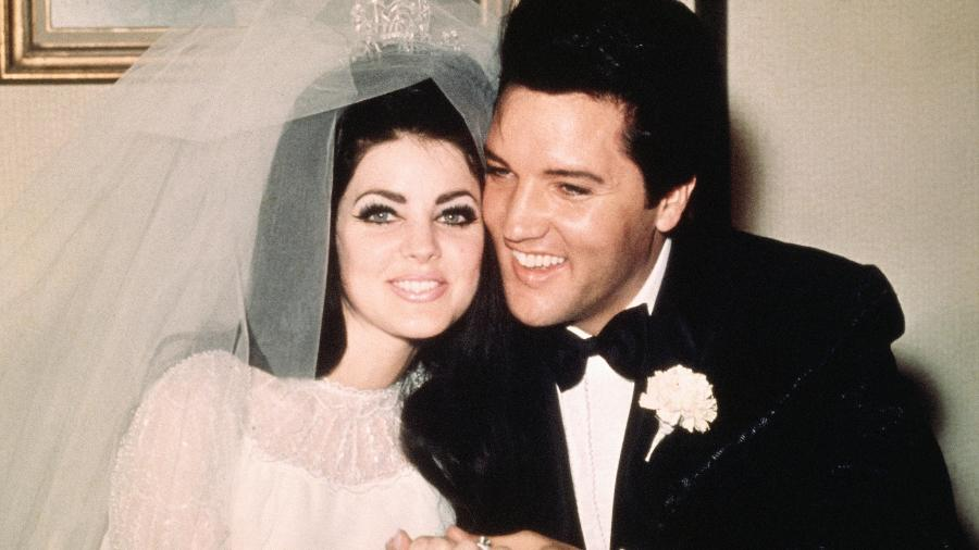 Priscilla Presley foi casada com Elvis por seis anos, de 1967 a 1973 - Getty Images