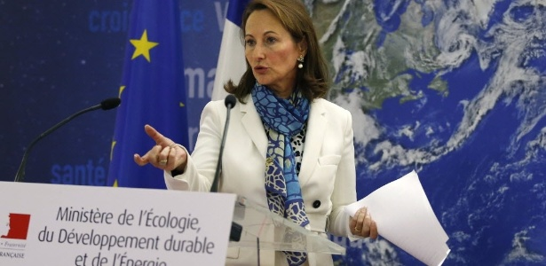 Segolene Royal, ministra da Energia da França