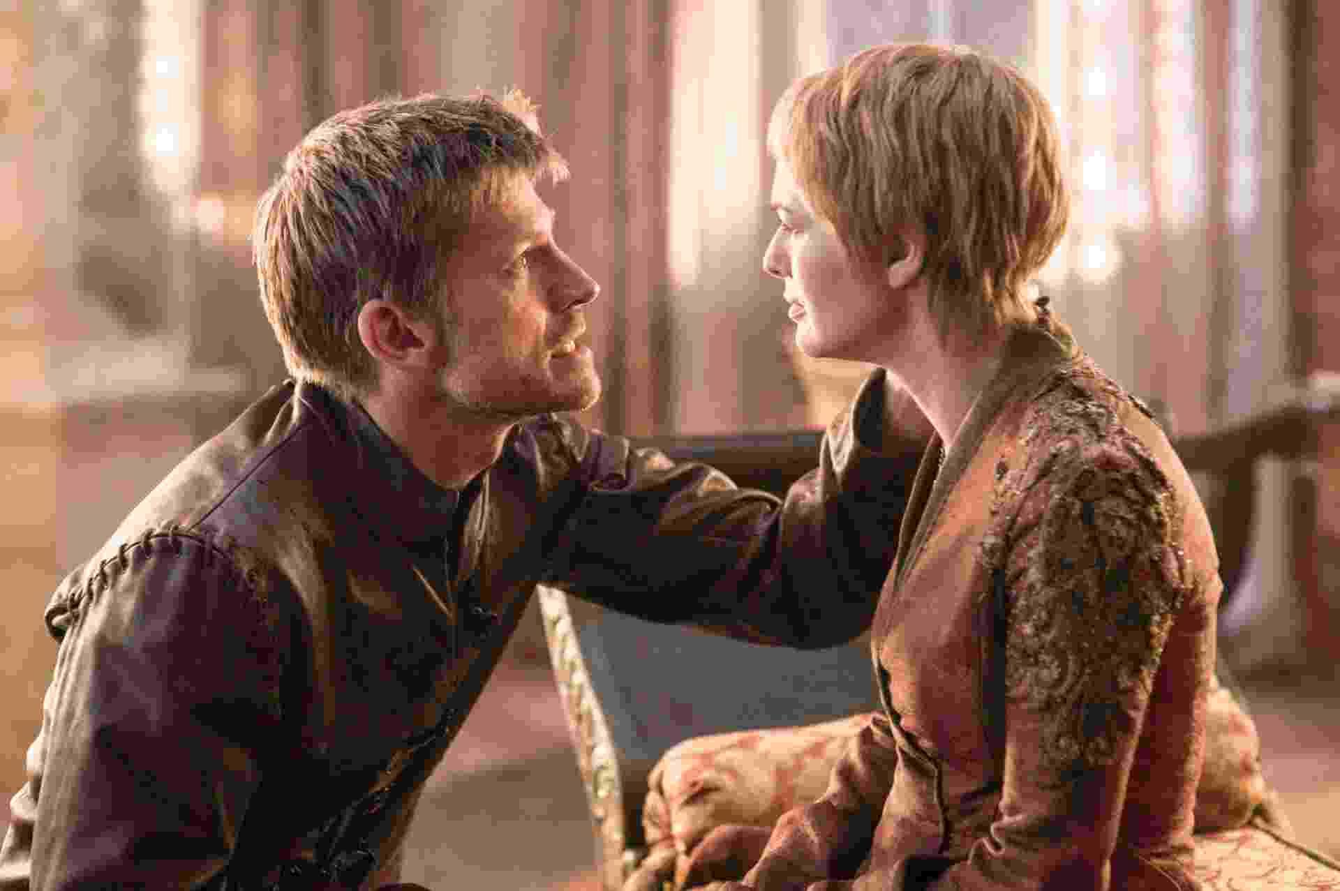 """Jaime reencontra Cersei em cena da sexta temporada de """"Game of Thrones"""" - Divulgação/HBO"""