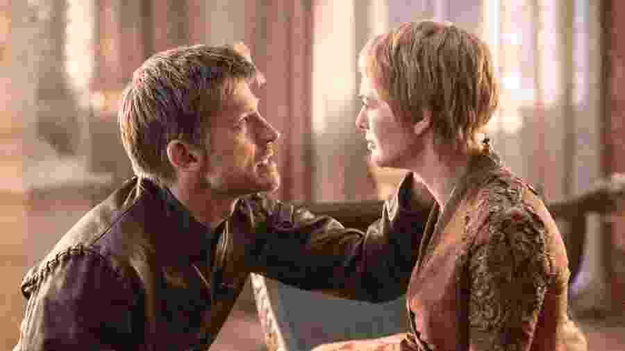 Jaime e Cersei em Game of Thrones - Divulgação/HBO