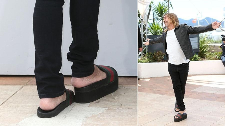 Iggy Pop contou, em 2008, que tem pernas de tamanhos diferentes - Getty Images