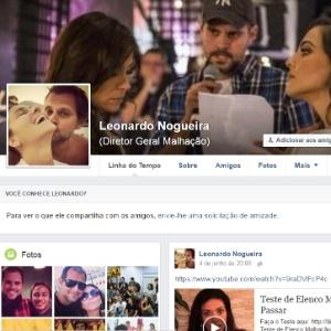 Golpista usa perfis falsos em nome do diretor Leonardo Nogueira - Reprodução/Facebook