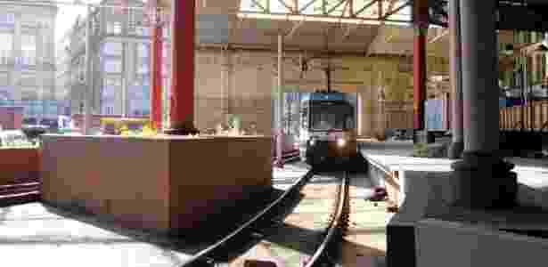 O viajante foi parar em um pátio ferroviário perto da estação Victoria, em Manchester - Michael Ely/Creative Commons