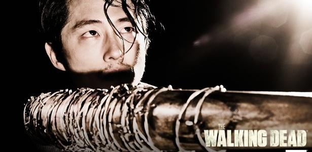 """Em """"The Walking Dead"""", Gleen está entre as supostas vítimas de Negan - Reprodução/AMC"""