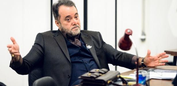 "Tony Ramos vive Abel Zebul na série ""Vade Retro"" - Ramon Vasconcelos/Rede Globo"