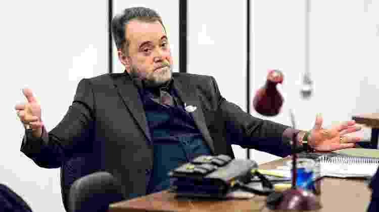 "Tony Ramos como Abel Zebul, em ""Vade Retro"" - Ramon Vasconcelos/Rede Globo - Ramon Vasconcelos/Rede Globo"