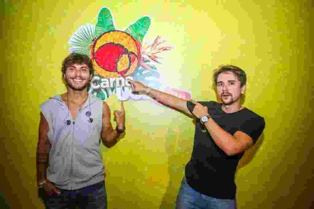 19.fev.2017 - Bruninho e Davi no 2º dia de Festival CarnaUOL SP, no estádio do Canindé - Edson Lopes Jr./UOL
