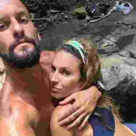 Maíra Charken com o namorado, o atleta Renato Antunes - Reprodução/Instagram/mairacharken